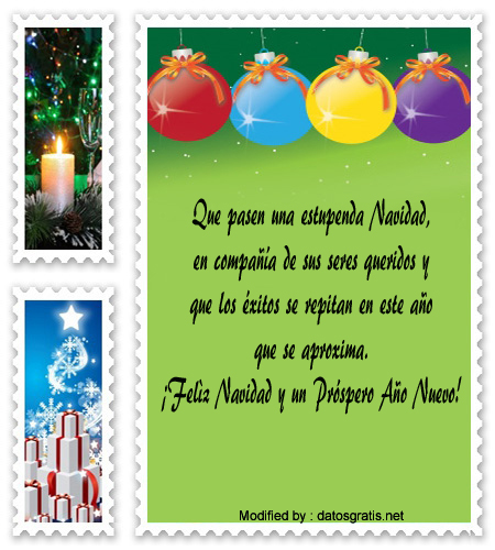 Bonitos saludos por navidad empresariales tarjetas de - Mensajes navidenos para empresas ...