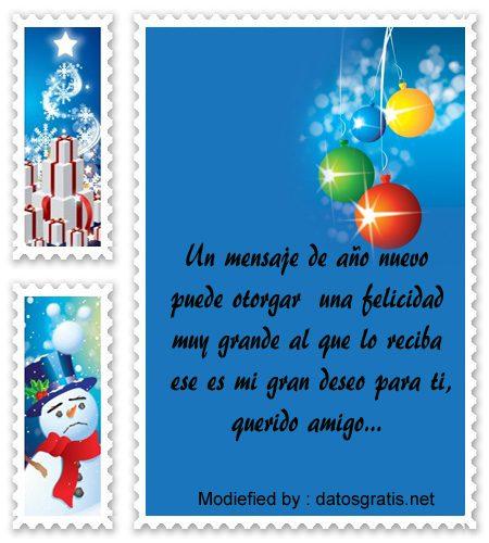 Mejores tarjetas con mensajes de fel z a o nuevo para - Dedicatorias para navidad y ano nuevo ...