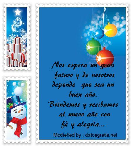 palabras para enviar en año nuevo,sms bonitos para enviar en año nuevo