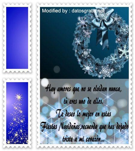 mensajes con imàgenes,mensajes de texto de felìz Navidad para mi ex