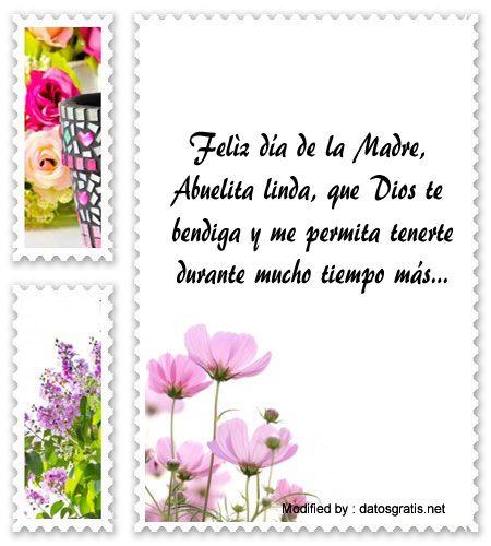 frases del dia de la Madre para la Abuelita, mensajes del dia de la Madre para la Abuelita