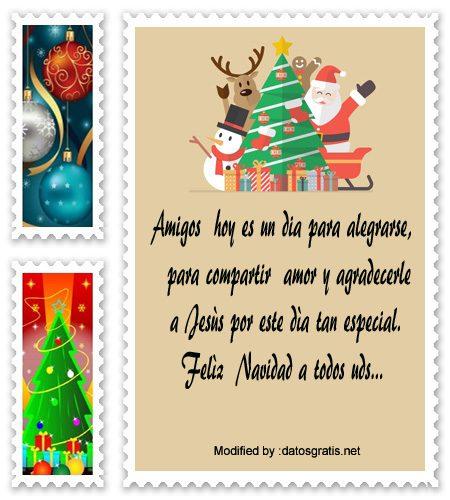 buscar bonitos textos para enviar en Navidad a mis amigos,descargar poemas para enviar en Navidad a mis amigos