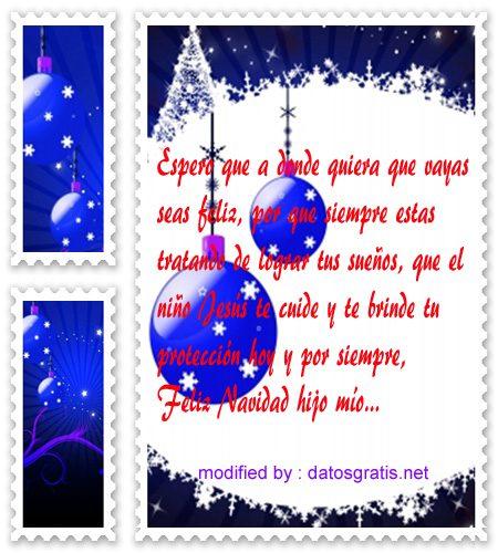 imagenes Navidad27,saludos de Navidad para un hijo,descargar lindas frases de felìz Navidad para un hijo