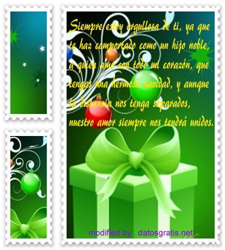imagenes Navidad28,descargar gratis bonitos mensajes de felìz Navidad para un hijo,nuevos pensamientos para dedicar a un hijo por Navidad