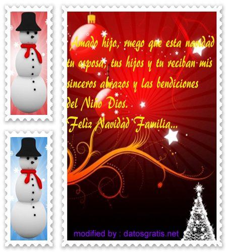 imagenes Navidad30,imàgenes con textos de Navidad para mi hijo,descargar gratis lindos versos de Navidad para tu hijo