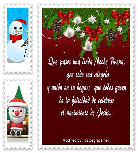 Tarjetas bonitas con mensajes de feliz navidad saludos de navidad - Objetos de navidad ...