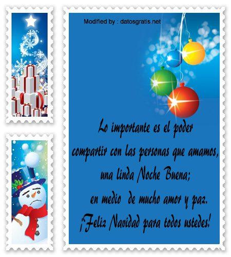 Tarjetas bonitas con mensajes de feliz navidad saludos - Frases de felicitacion por navidad ...