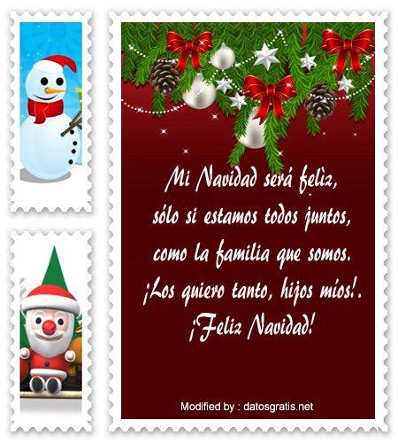 buscar bonitos textos para enviar en Navidad para mi hijo,descargar poemas para enviar en Navidad para mi hijo