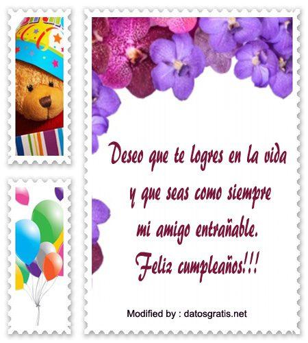 saludos bonitos de cumpleaños, frases de cumpleaños para un amigo