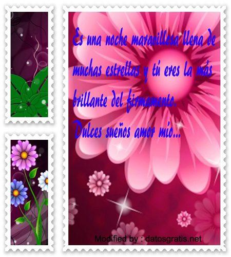 versos de buenas noches para mi amor,textos cortos de buenas noches para mi amor para Whatsapp