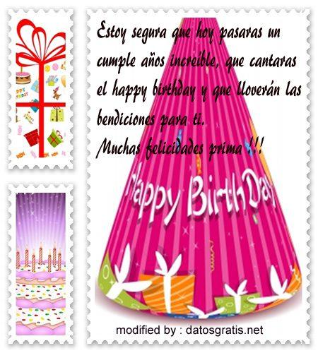 originales mensajes cumpleaños para enviar a mi prima,descargar originales dedicatorias con imàgenes de cumpleaños para una prima