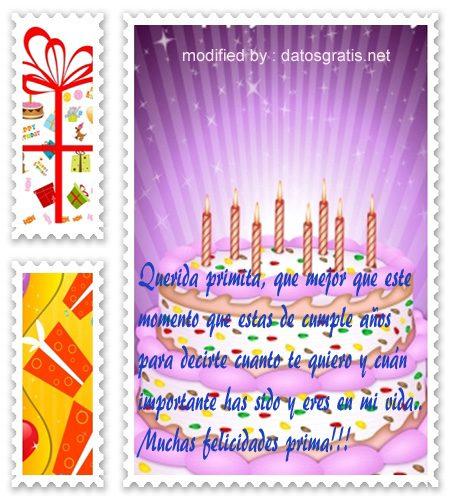 mensajes cumpleanos48,tarjetas con saludos de cumpleaños muy bonitas para enviarle a una prima