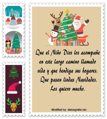 Buscar tarjetas bonitas con mensajes navide os para la - Felicitar la navidad a una amiga ...