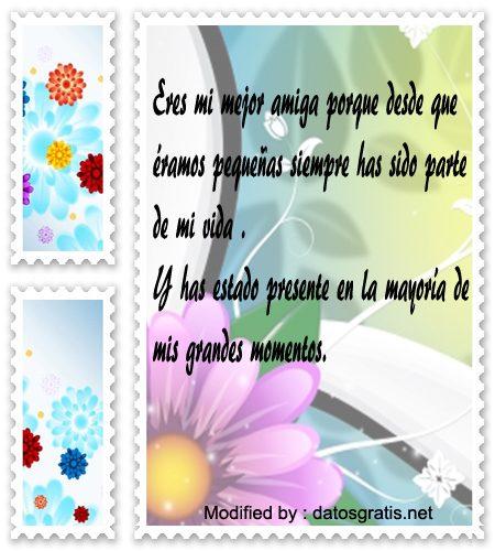 poemas muy lindos para una amiga muy querida,mensajes y palabras afectuosas para mi mejor amiga