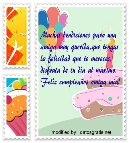descargar gratis felicitaciones de cumpleaños con imàgenes para una amiga,bellos mensajes con imàgenes de cumpleaños para una amiga