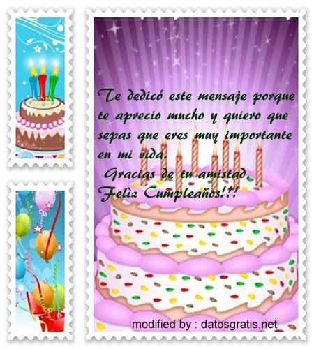 bajar linsos textos de cumpleaños con imàgenes para una amiga,buscar gratis pensamientos de cumpleaños muy bonitos para dedicar a una amiga