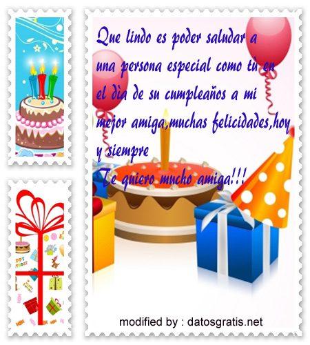 mensajes con imàgenes de cumpleaños originales para una buena amiga,postales muy bonita de cumpleaños para una amiga