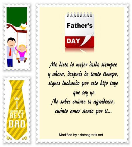 textos para el dia del Padre,dedicatorias para el dia del Padre