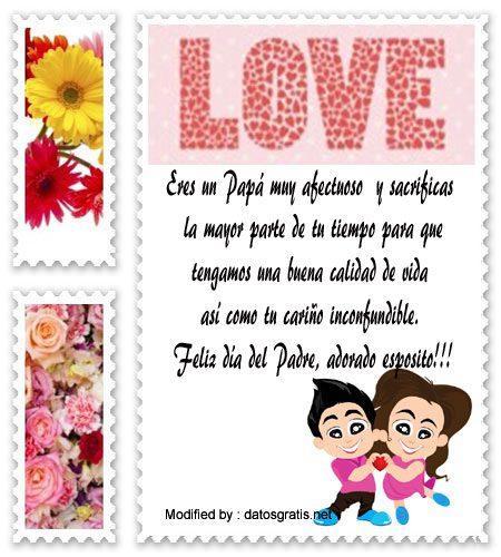 descargar mensajes del dia del Padre para mi esposo,mensajes bonitos para el dia del Padre para mi esposo