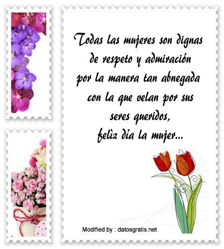 » Bellas Frases Por El Día De La Mujer Para Facebook ...