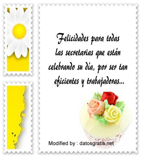 mensajes bonitos para el dia de la Secretaria,descargar frases bonitas para el dia de la Secretaria