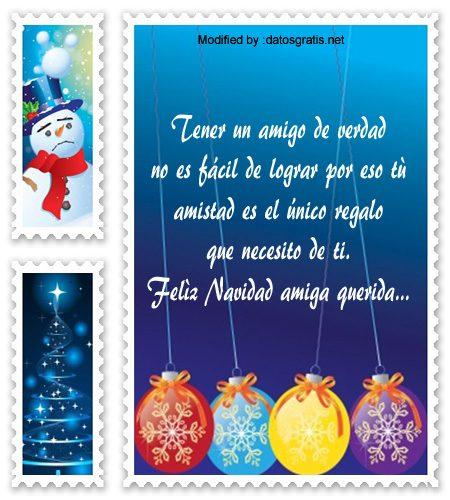 Frases navide as para una amiga saludos de navidad - Felicitar la navidad a una amiga ...