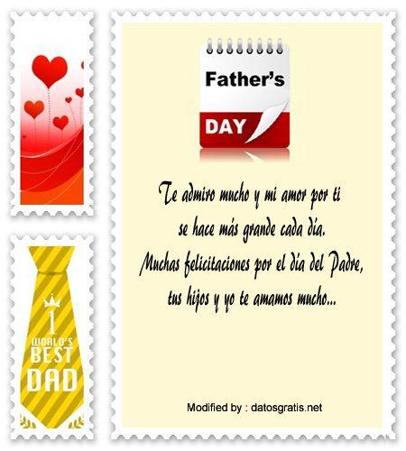 modelo de carta de amor para mi esposo por el dia del Padre,ejemplo de carta para el mejor Padre en su dia