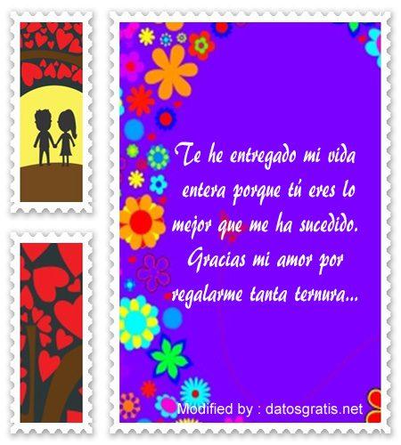 Tarjetas Y Mensajes Bonitos De Amor Para Enviar A Mi Novia