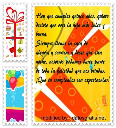 mensajes con imàgenes bonitas de felìz cumpleaños de quince años, palabras bonitas de felìz cumpleaños auna quinceañera