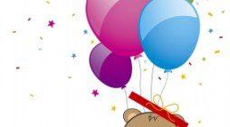 Imágenes con textos bonitos de cumpleaños para dedicar