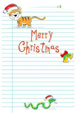 Descargar bonitas tarjetas de Navidad gratis