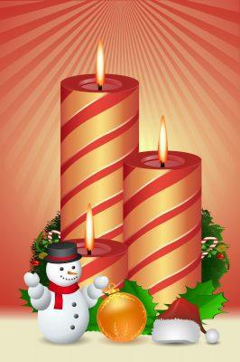 Saludos para Navidad y Año Nuevo