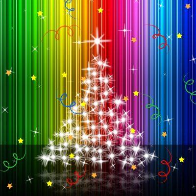 Postear saludos de Navidad para facebook