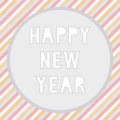 Postear saludos de año nuevo para facebook