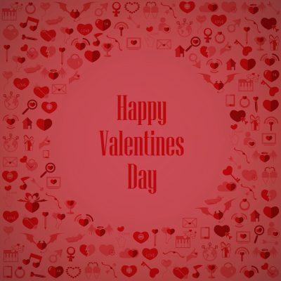 Felìz San Valentìn para mi amor que esta lejos