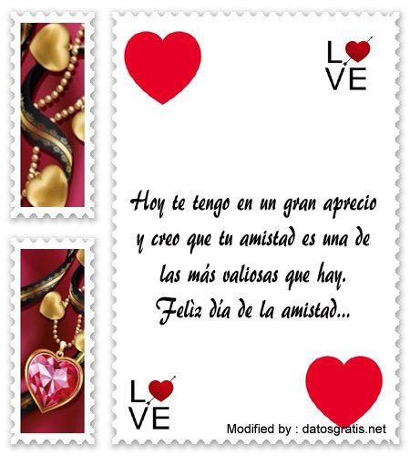 saludos del dia del amor y la amistad para compartir por Whatsapp,descargar mensajes del dia del amor y la amistad