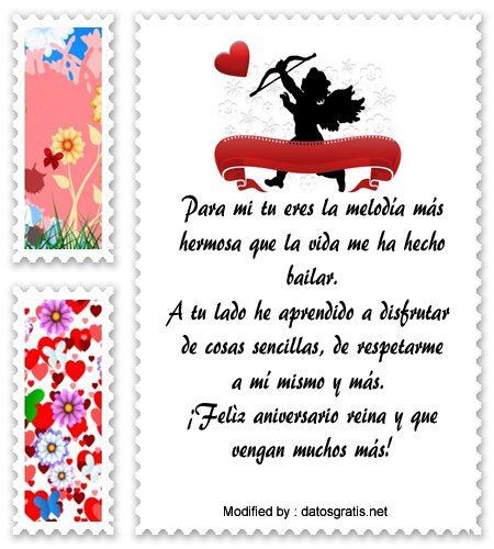 Bonitos Mensajes De Aniversario Para Novios | Frases De Aniversario ...