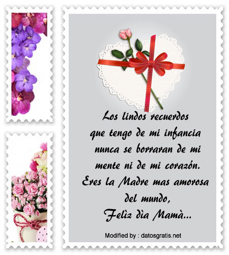 descargar pensamientos por el Día de la Madre,originales mensajes por el Día de la Madre