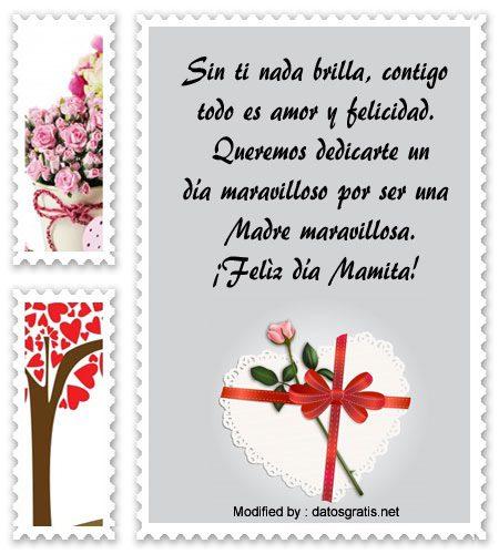 buscar frases para el dia de la Madre,descargar mensajes bonitos para el dia de la Madre