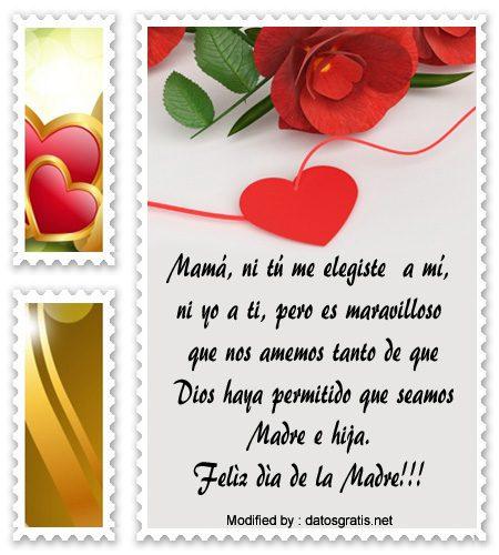 buscar nuevas dedicatorias por el Día de la Madre para WhatsApp, lindos mensajes por el Día de la Madre para WhatsApp