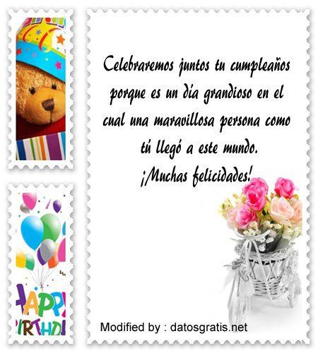bonitas palabras de cumpleaños, lindos mensajes de feliz cumpleaños