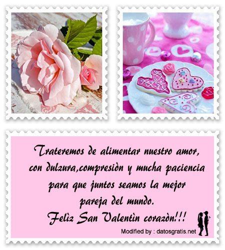 descargar frases para San Valentin gratis,buscar textos bonitos para San Valentin,