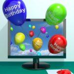 buscar nuevas palabras de cumpleaños, enviar nuevos mensajes de cumpleaños