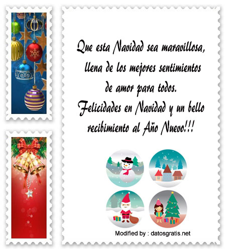 Lindos mensajes de navidad y a o nuevo para familiares - Mensajes bonitos de navidad y ano nuevo ...