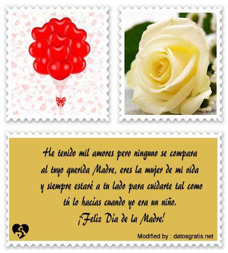 descargar mensajes bonitos para el dia de la Madre,mensajes de texto para el dia de la Madre,palabras para el dia de la Madre,saludos para el dia de la Madre