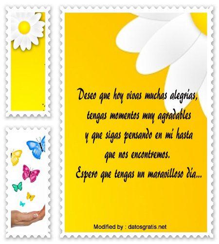 Mensajes Tiernos De Buenos Dias Frases Romanticas De