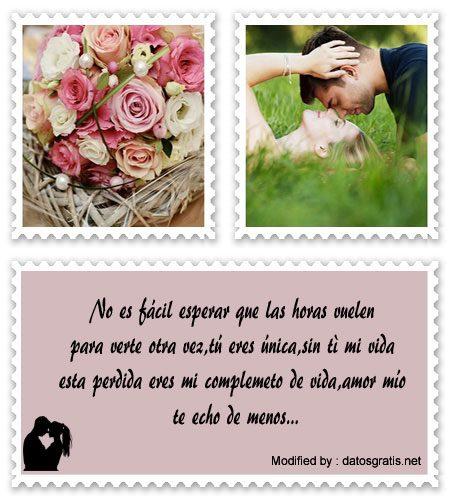 Frases De Te Extrano Mucho Mi Amor Mensajes Romanticos