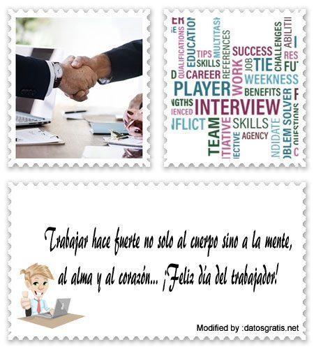 Descargar Bonitas Frases Por El Dia Del Trabajo Saludos