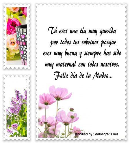 Mensajes Bonitos Para Mi Tia En El Dia De La Madre Frases Dia De