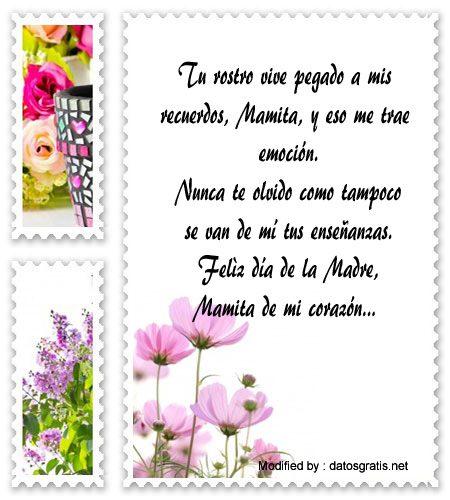 Frases Por El Dia De La Madre Para La Mama Que Fallecio Recordatorios De Amor Datosgratis Net